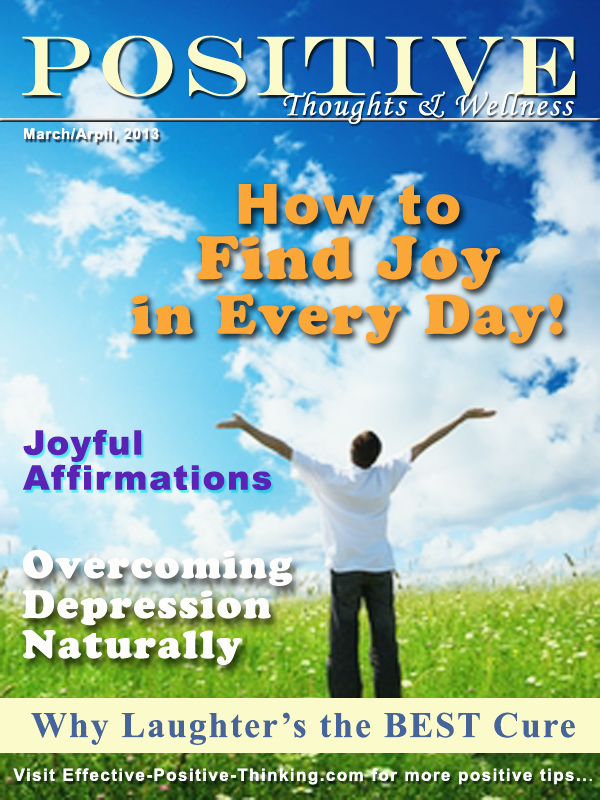 Positive Thoughts and Wellness Magazine Jan-Feb 2013