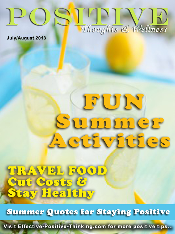 Positive Thoughts and Wellness Magazine May-June 2013